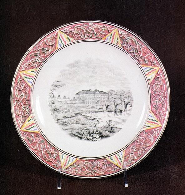 Celtic Scenic Commemorative Plate !!