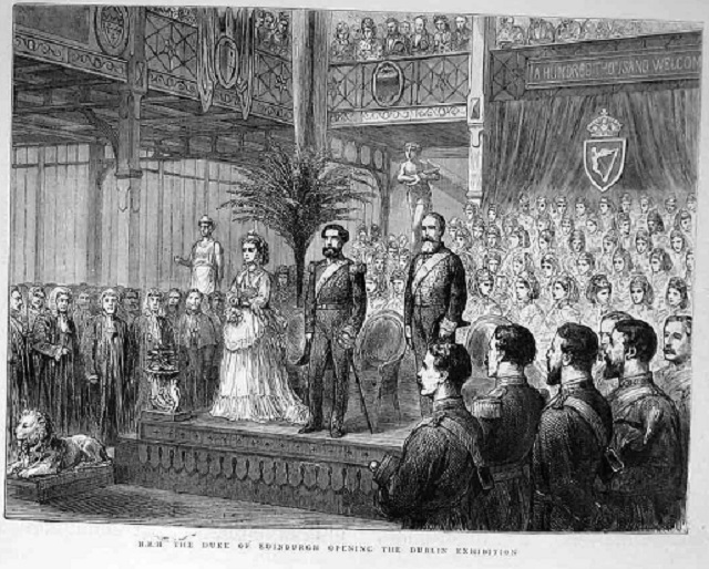 1872 Dublin Exhibition Opening Ceremony !!St. Patricks Cathedral !!