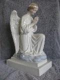 Large Kneeling Earthenware Angel