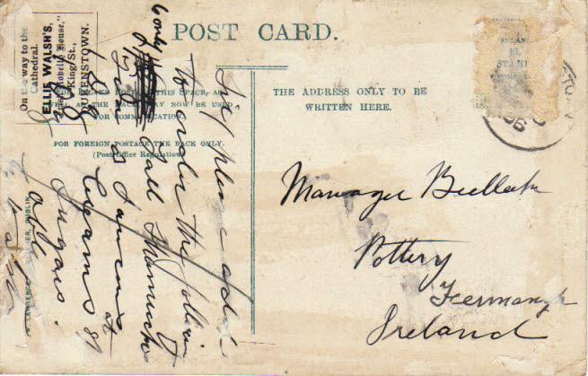 Actual Postcard Verbiage !!