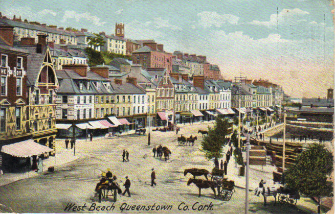 West Beach Queenstown, County Cork Scene !!