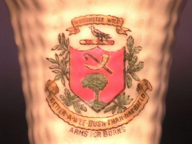 Close-Up of Burns' Crest !!