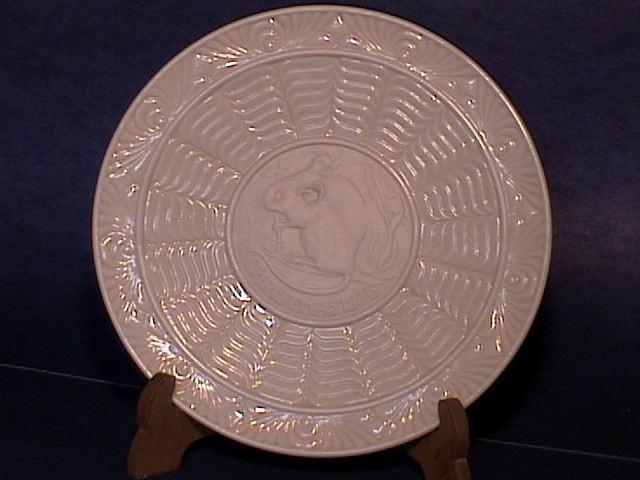 Belleek 1978 Proof Plate !!
