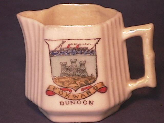 City of Dunoon Fan Cream !!