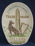 Belleek Trademark Plaque !!