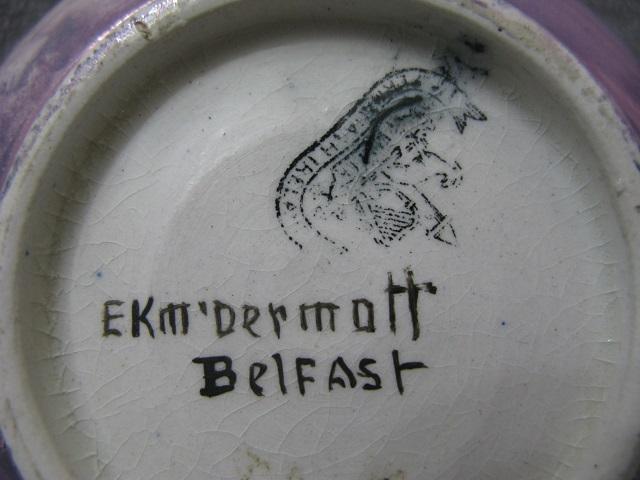 My EK McDermott Welcome Bowl MARKS !!