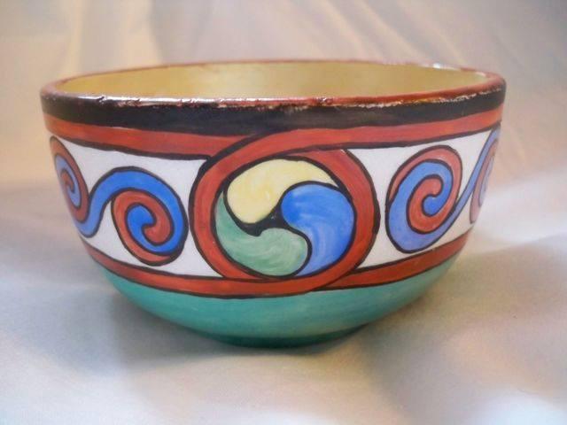 Belleek Pottery EK McDermott Bowl SIDE View !!