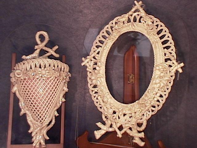 Unique Woven Belleek Items !!