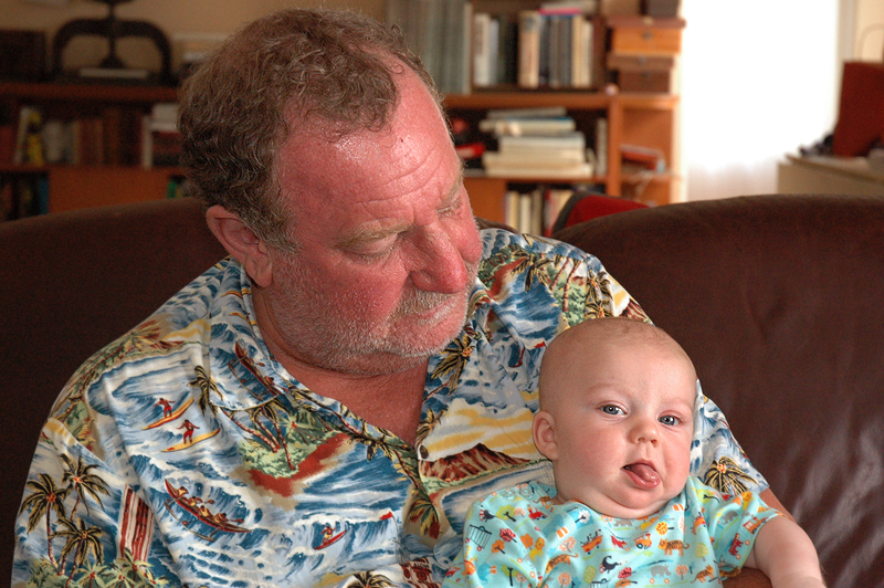 Your Editor and Grandson Lincoln !!