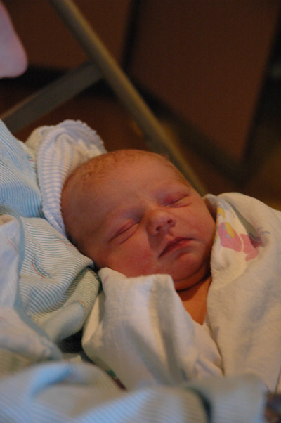 Lincoln Edward at One Day Old !!
