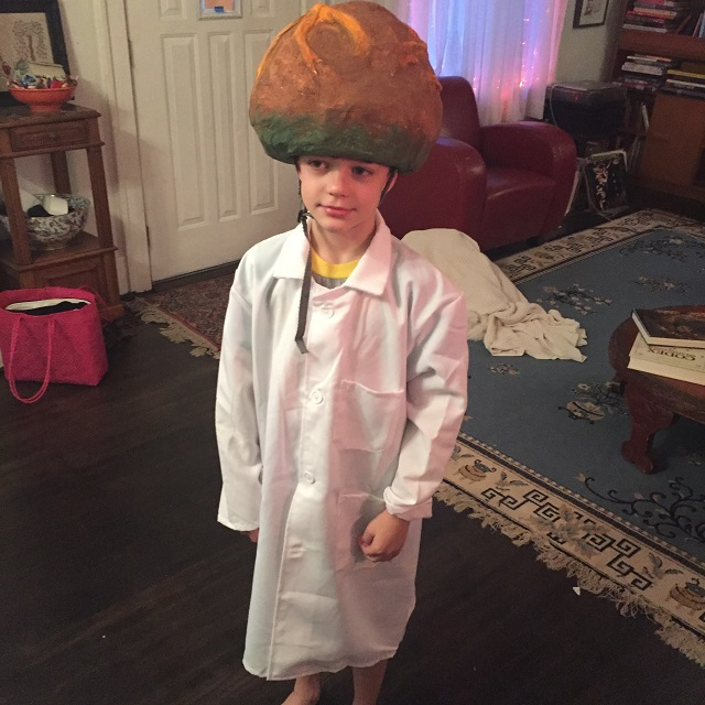 Lincoln as Dr Zomboss !!