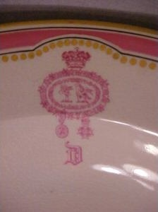 Marquis of Donegal Tureen Crest !!