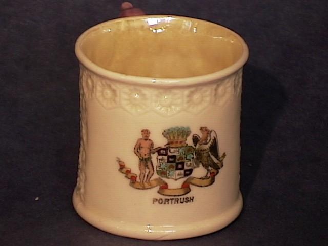 Belleek Miniature Crested Cleary Mug !!