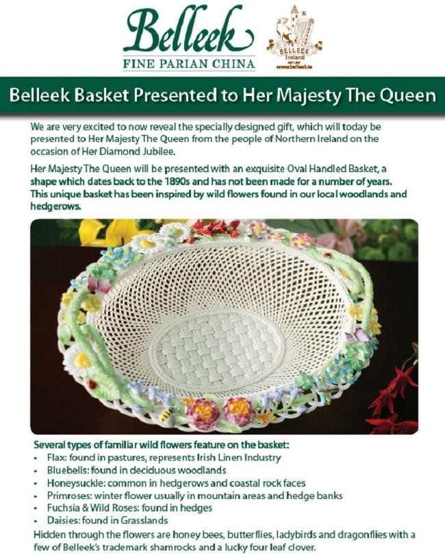 Queen's Jubilee Basket !!
