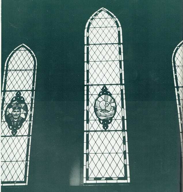 St Patricks Parish Stained Glass !!